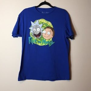 Rick and Morty Men's Large t-shirt